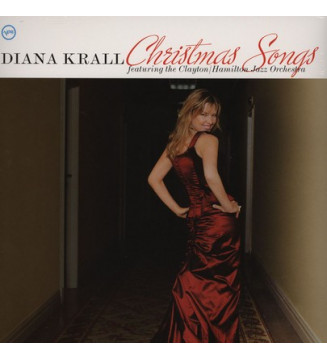 Diana Krall Featuring The Clayton/Hamilton Jazz Orchestra* - Christmas Songs (LP, Album, RE) mesvinyles.fr