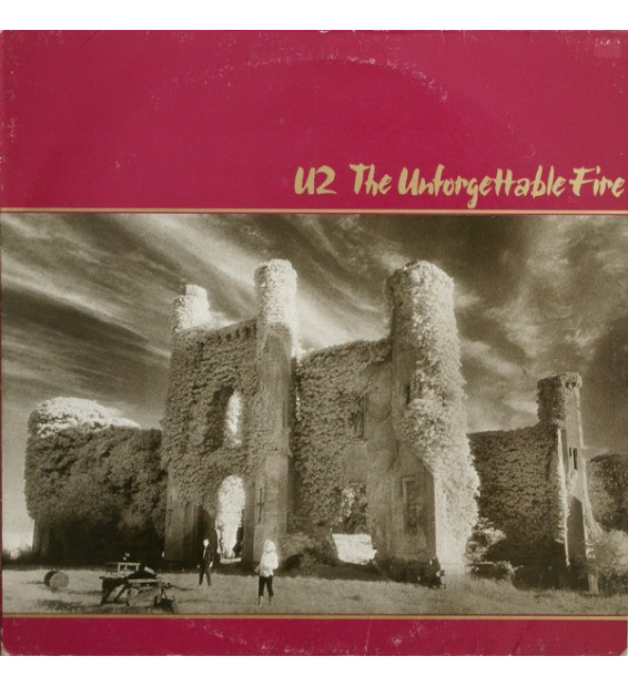 U2 - The Unforgettable Fire (LP, Album) mesvinyles.fr