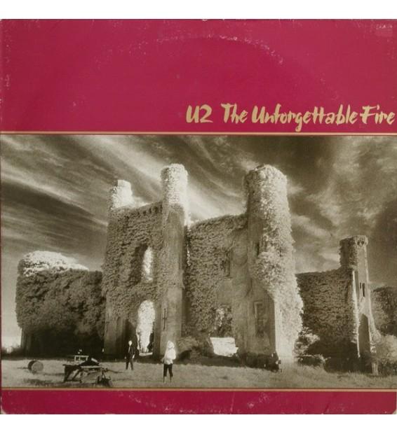 U2 - The Unforgettable Fire (LP, Album) mesvinyles.fr