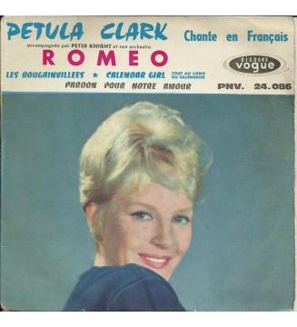 """Petula Clark Accompagnée Par Peter Knight Et Son Orchestre* - Chante En Français Romeo (7"""", EP) mesvinyles.fr"""