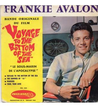 """Frankie Avalon - 10 - Voyage To The Bottom Of The Sea """"Le Sous-Marin De L'Apocalypse"""" (7"""", EP, Mono) mesvinyles.fr"""