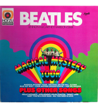 The Beatles - Magical Mystery Tour Plus Other Songs (LP, Comp, RE) mesvinyles.fr