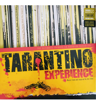 Various - The Tarantino Experience (2xLP, Comp, Dlx, Red) mesvinyles.fr