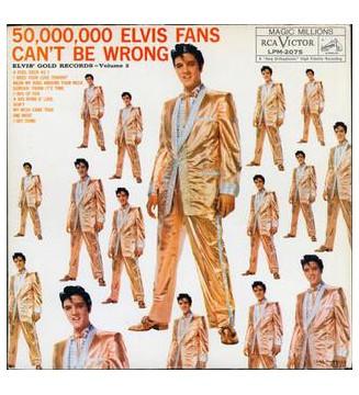 Elvis Presley - 50,000,000 Elvis Fans Can't Be Wrong (LP, Comp, Mono, RE) mesvinyles.fr