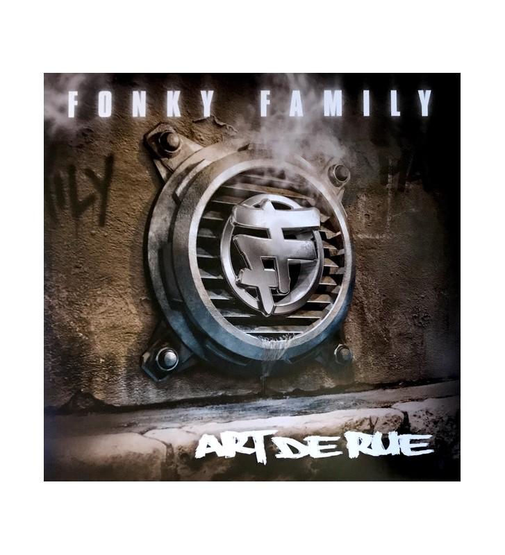Fonky Family - Art De Rue (2xLP, Album, RE, RM, Gol) mesvinyles.fr
