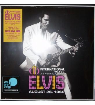 Elvis* - International Hotel Las Vegas, Nevada August 26, 1969 (2xLP) mesvinyles.fr