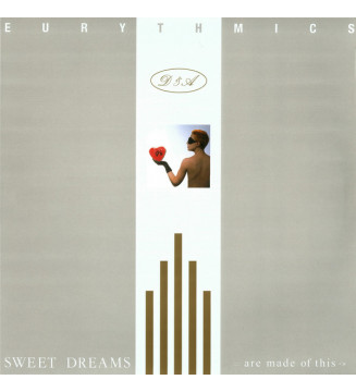 Eurythmics - Sweet Dreams (Are Made Of This) (LP, Album, RE, RM, 180) mesvinyles.fr