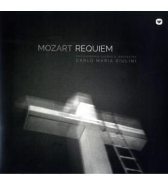 Wolfgang Amadeus Mozart *, Carlo Maria Giulini, Philharmonia Orchestra And  Chorus* - Requiem In D Minor, K626 (LP, RM, Gat) mes