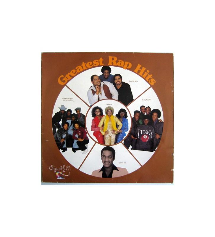 Various - Greatest Rap Hits (LP, Comp) mesvinyles.fr