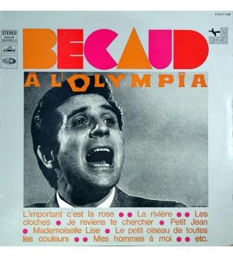 Gilbert Bécaud - Bécaud À L'Olympia (LP) mesvinyles.fr