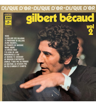 Gilbert Bécaud - Disque D'Or Vol 2 (LP, Comp, RE, Gat) mesvinyles.fr