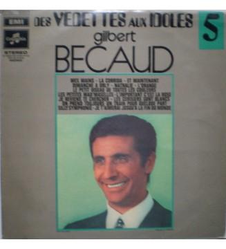 Gilbert Becaud* - Des Vedettes Aux Idoles 5 (LP, Comp) mesvinyles.fr