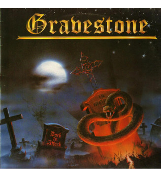 Gravestone - Back To Attack (LP, Album) mesvinyles.fr