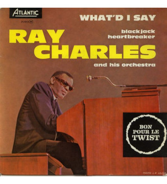 "Ray Charles And His Orchestra - What'd I Say (7"", EP, RE) mesvinyles.fr"