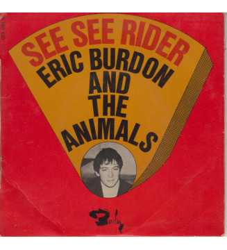 """Eric Burdon And The Animals* - See See Rider  (7"""", EP) mesvinyles.fr"""