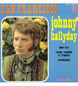 "Johnny Hallyday - San Francisco (7"", EP) mesvinyles.fr"