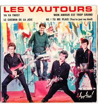 "Les Vautours Avec Vic Laurens - Ya Ya Twist (7"", EP) mesvinyles.fr"