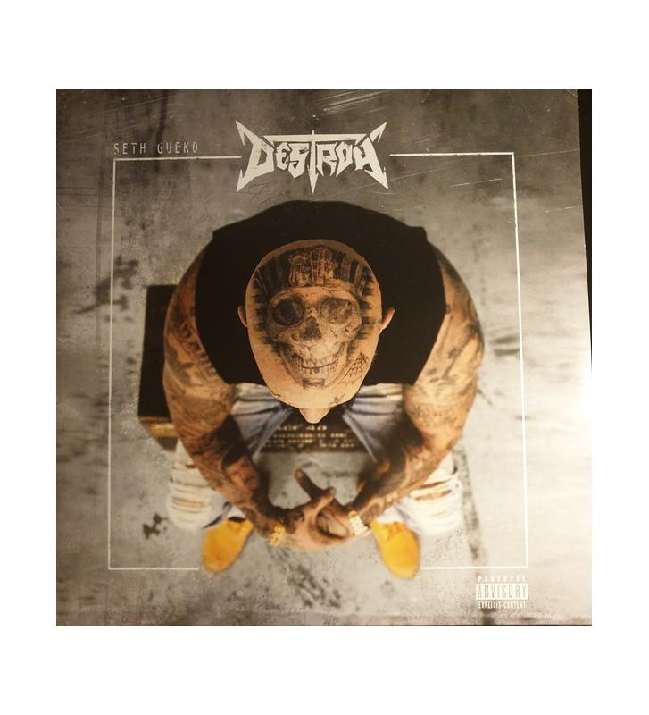 Seth Gueko - Destroy (2xLP, Album) mesvinyles.fr
