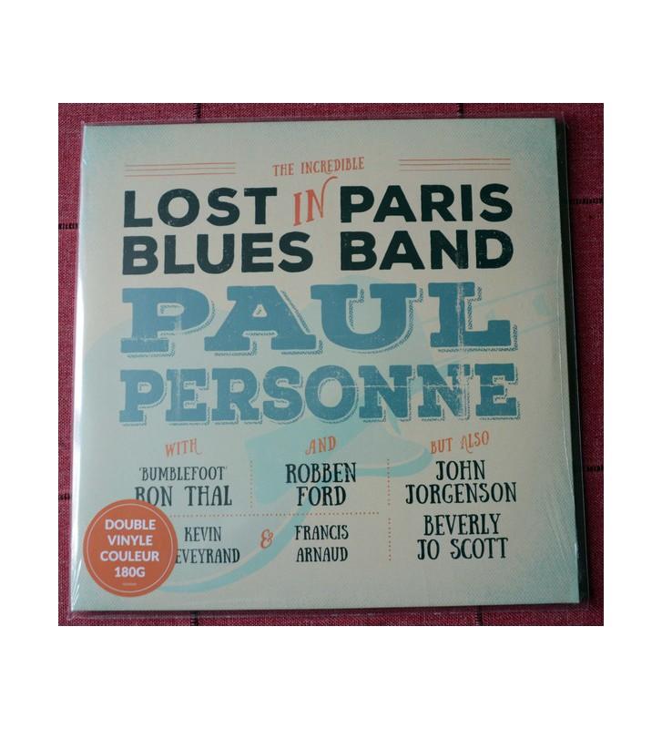 Paul Personne - Lost In Paris Blues Band (2xLP, Album, Ltd, Ora) mesvinyles.fr