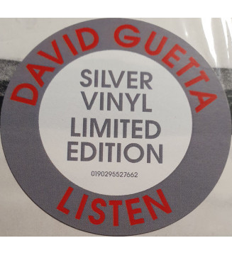 David Guetta - Listen (2xLP, Album, Ltd, Sil) mesvinyles.fr