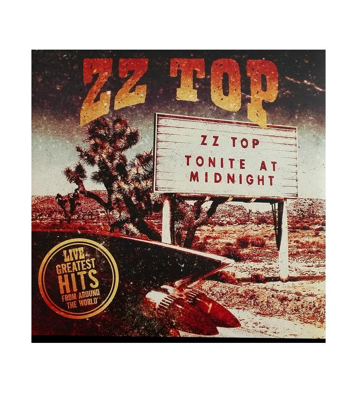 ZZ Top - Live! Greatest Hits From Around The World (2xLP, Album) mesvinyles.fr