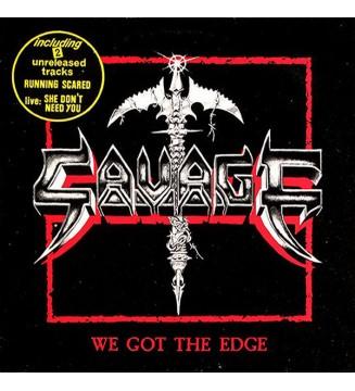 "Savage (7) - We Got The Edge (12"") mesvinyles.fr"