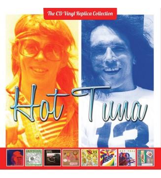 Hot Tuna - The CD Vinyl Replica Collection Boxset    (8xHDCD, Album, Ltd, Num, RE, RM + Box, Comp) mesvinyles.fr