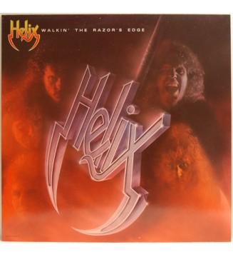 Helix (3) - Walkin' The Razor's Edge (LP, Album) mesvinyles.fr