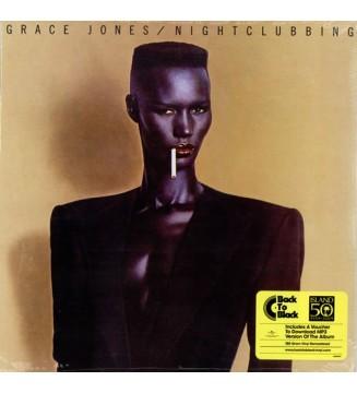 Grace Jones - Nightclubbing (LP, Album, Ltd, RE, RM) mesvinyles.fr