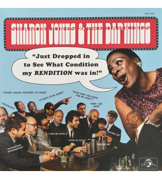 Sharon Jones & The Dap-Kings - Just Dropped In (To See What Condition My Rendition Was In) (LP, Album, Ltd, Blu) mesvinyles.fr
