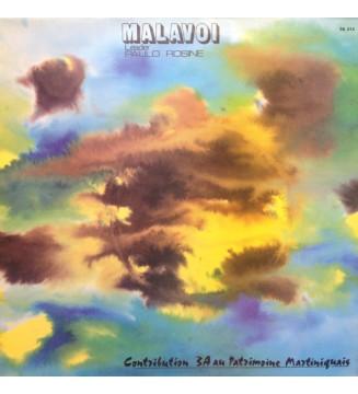 Malavoi, Paul Rosine - Contribution 3A Au Patrimoine Martiniquais  (LP) mesvinyles.fr