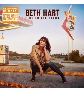 Beth Hart - Fire On The Floor  (LP, Album, Ltd, Ora) mesvinyles.fr