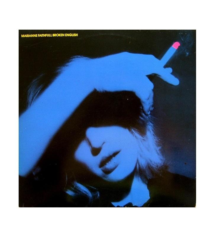 Marianne Faithfull - Broken English (LP, Album) mesvinyles.fr