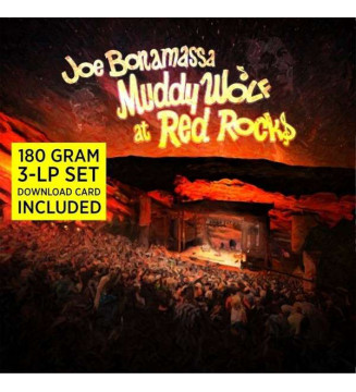 Joe Bonamassa - Muddy Wolf At Red Rocks (3xLP, Album, 180) mesvinyles.fr