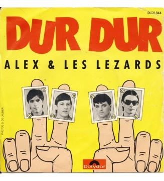 """Alex & Les Lezards - Dur Dur (7"""", Single) mesvinyles.fr"""