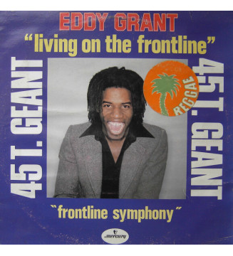 "Eddy Grant - Living On The Frontline (12"", Maxi) mesvinyles.fr"