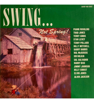 Various - Swing... Not Spring! (LP, Mono) mesvinyles.fr