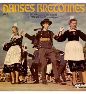 Lily Guilloux, Son Ensemble* Et Yann Le Saux - Danses Bretonnes Vol.1 (LP, Album) mesvinyles.fr