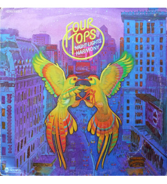 Four Tops - Night Lights Harmony (LP, Album) mesvinyles.fr