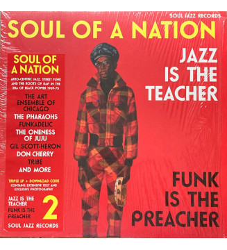 Various - Soul Of A Nation 2 (Jazz Is The Teacher Funk Is The Preacher: Afro-Centric Jazz, Street Funk And The Roots Of Rap In