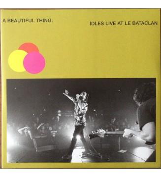 Idles - A Beautiful Thing: Idles Live At Le Bataclan (2xLP, Album, Ltd, Gre) mesvinyles.fr