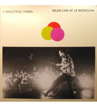 Idles - A Beautiful Thing: Idles Live At Le Bataclan (2xLP, Album, Ltd, Ora) mesvinyles.fr