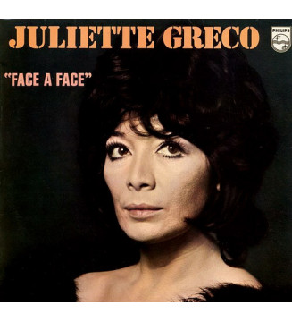 Juliette Gréco - Face À Face (LP, Album)