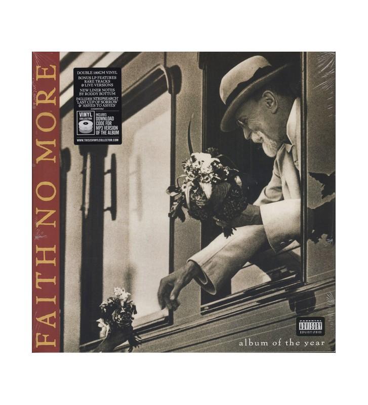 Faith No More - Album Of The Year (2xLP, Album, RE, RM, Gat) mesvinyles.fr