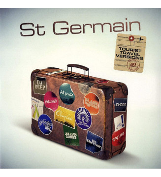 St Germain - Tourist Travel Versions (2xLP, Album) mesvinyles.fr