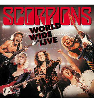Scorpions - World Wide Live (2xLP, Album, 180 + CD, Album + Dlx, RE, RM) mesvinyles.fr