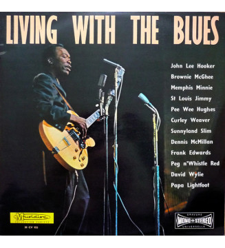 Various - Living With The Blues (LP, Comp) mesvinyles.fr