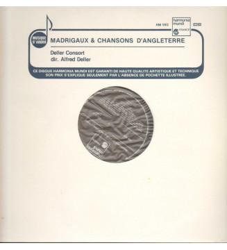 Deller Consort, Alfred Deller - Madrigaux & Chansons D'Angleterre (LP) mesvinyles.fr