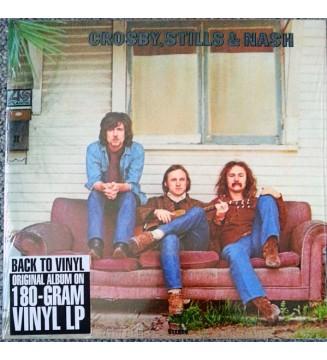 Crosby, Stills & Nash - Crosby, Stills & Nash (LP, Album, RE, Gat) mesvinyles.fr