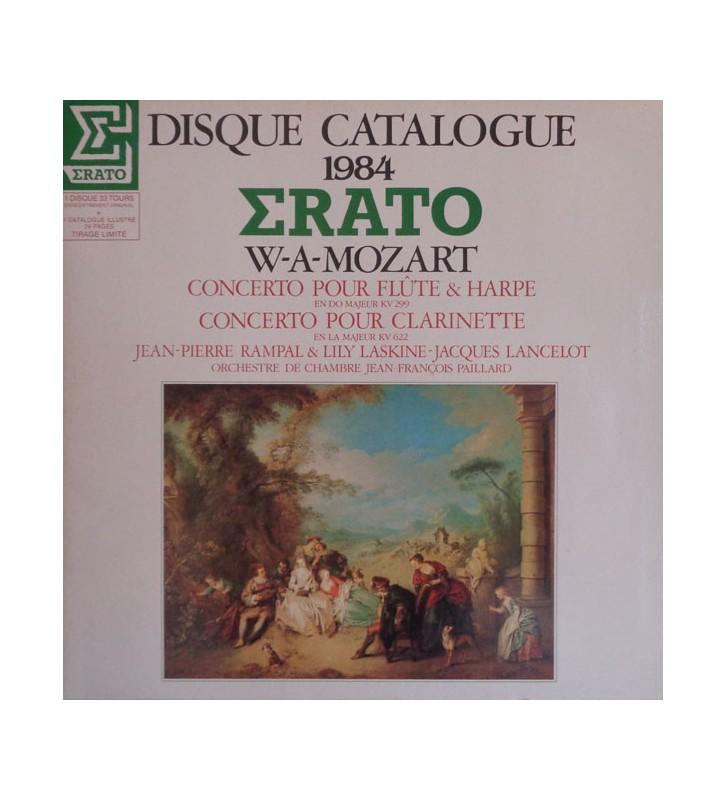 W.A. Mozart* - Jean-Pierre Rampal & Lily Laskine, Jacques Lancelot, Orchestre De Chambre Jean-François Paillard - Concerto Pour